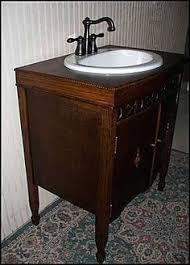 Repurposed Bathroom Vanity by Photo Of Front View Antique Bathroom Vanity Antique Victrola