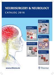 neurosurgery sectional catalog by thieme india issuu