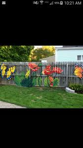 best 25 fence art ideas on pinterest garden fence paint garden