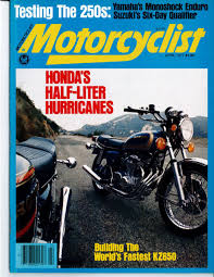 motorcyclist covers the 1970s