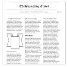 google doc newspaper template resume cv cover letter pertaining