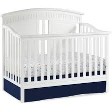 Crib Mattress Support Frame Thomasville Majestic 4 In 1 Convertible Crib White Walmart