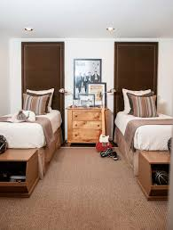 ceiling height headboard traditional boy u0027s room dana wolter