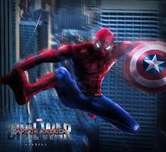 captain america civil war spidy by alexlex1 anim m ns