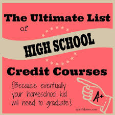 online health class for high school credit great list of possible names for your courses on a high school