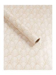 deco wrapping paper linea chagne deco fan 2m wrapping paper house of fraser