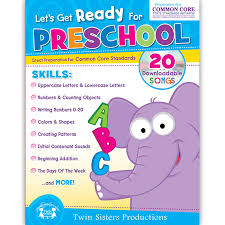 get ready for preschool activity book