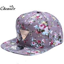 floral snapback cool 2016 new fashion floral adjustable casquette snapback caps
