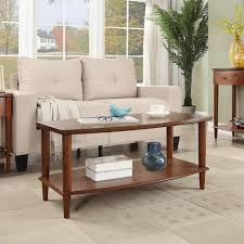 livingroom table home decorators collection maldives walnut coffee table 0213700820