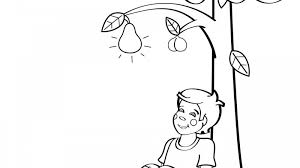 nut coloring page i had a little nut tree coloring page mother goose club