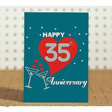 35th wedding anniversary gift anniversary cards 35th wedding anniversary cards best of 35th