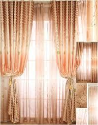 Burnt Orange Curtains Sale Orange Curtain Panels This Henna Curtain Panel Features A Blackout