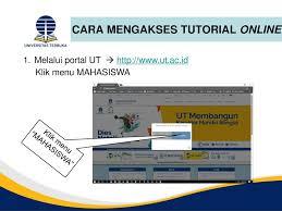 pendaftaran tutorial online ut tutorial online tuton ppt download