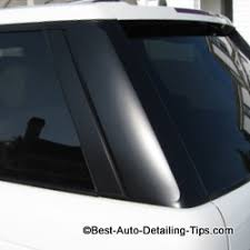 How To Refurbish Car Interior Turn Faded Black Trim Into A Work Of Art Cleaning Restoring Black
