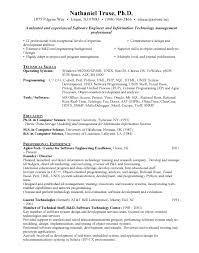 Sample Resume For Net Developer by Sample Resume For Experienced Software Test Engineer Automation