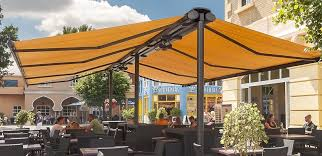 Awning System Syncra 2 Freestanding Awning Frame System Markilux North America