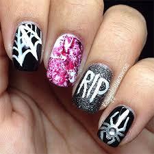 gel nail designs halloween nail beauty gel manicure w hand