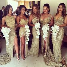 bridesmaids wedding dresses 22 glamorous gold bridesmaid dresses ideas you can t miss
