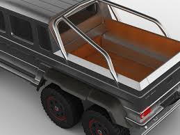 mercedes pickup truck 6x6 interior 3d model mercedes g63 amg 6x6 cgtrader