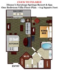 disney saratoga springs treehouse villas floor plan disney saratoga springs 1 bedroom villa floor plan