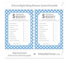 price is right baby shower pastel blue polka dot price is right baby shower printable