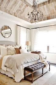 painted brick accent walls french country bedroom ideas wood wall