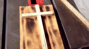 how to make an easy wood cross youtube