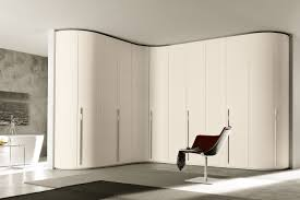 hinged wardrobe with curved doors napol furniture