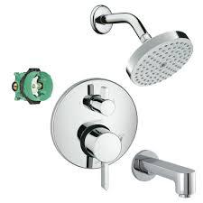 Faucet Colors Hansgrohe Kst04447 27486 13pc Raindance Shower Faucet Kit With Tub