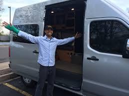 nissan cargo van nv2500 a van named dusty u2014 van life travelogue