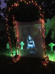 halloween display 2016 6921 ash hill lane bartlett tn