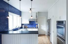 cuisine blanche et bleue cuisine blanc et bleu
