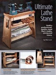 lathe stand plans u2022 woodarchivist
