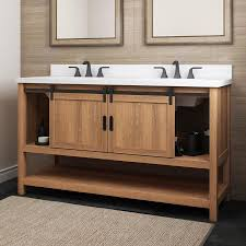 lowes 60 inch kitchen sink base cabinet style selections 60 in brown undermount sink bathroom