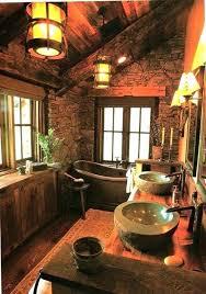 rustic cabin bathroom ideas cabin bathroom expatworld club