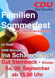 Lippische Landeszeitung Bad Salzuflen Cdu U2013 Sommerfest Auf Gut Steinbeck U2013 Cdu Stadtverband Bad Salzuflen