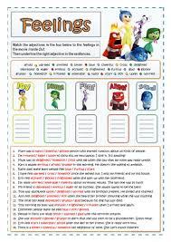 282 free esl feelings worksheets