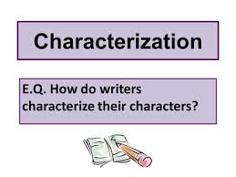 the 8 methods of characterization 8 different ways of looking at a