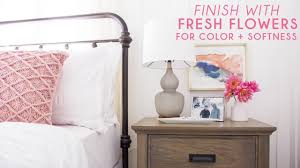how to style a nightstand youtube