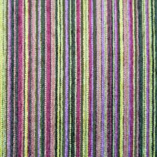 Multi Coloured Upholstery Fabric Pescara Multi Coloured Pin Stripe Chenille Upholstery Fabric
