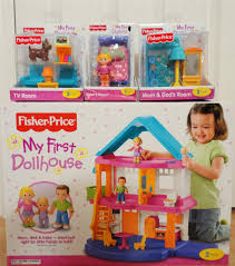 Fisher Price Doll House Furniture Fisher Price My First Dollhouse Playset Furniture Sister