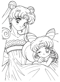 princess usagi coloring page cute pages of kidscoloringpage org