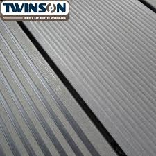 q deck u0027 twinson composite decking slate grey