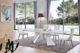 Pedestal Table Base For Glass Top Table And Chairs Sets Italian Dining Furniture Luxury Kitchen