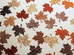 Fall Table Decor Fall Table Decorations Leaf Confetti Glitter Leaves Fall