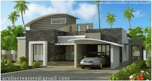 Home Parapet Designs Kerala Style box type modern house plan kerala home design floor plans free