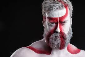 men halloween makeup urban beards men rocking makeup