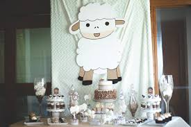 sheep baby shower kara s party ideas rustic baby shower kara s party ideas