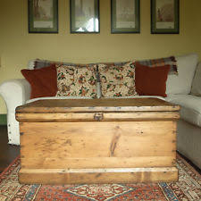 storage trunk coffee table chest coffee table ebay