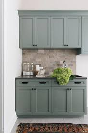colored cabinets for kitchen 25 ways to style grey kitchen cabinets kitchen design
